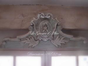 Le Grenier d'Alice - frontonr03 - Pediment