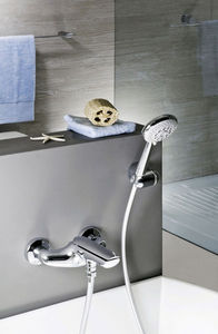 Concealed bath mixer