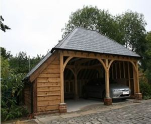 Courtyard Designs -  - Car Shelter