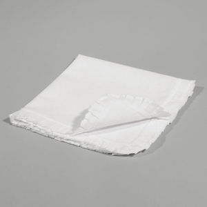 Maisons du monde - serviette bord volant - Table Napkin