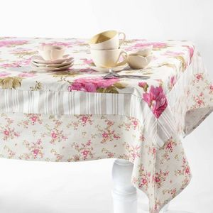 Maisons du monde - nappe floralie patch - Rectangular Tablecloth