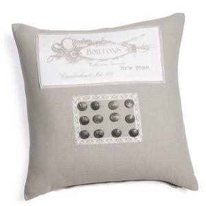Maisons du monde - housse de coussin magnolia bouton - Cushion Cover