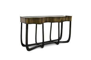 BOCA DO LOBO - sinuous patina - Console Table