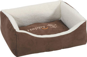 ZOLUX - divan hapy en tissu microfibre moka 50x40x18cm - Doggy Bed