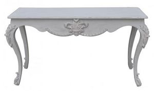 Demeure et Jardin - console patine grise style louis xv - Console Table