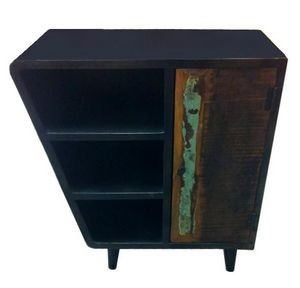 Mathi Design - commode bois et acier danish - Chest Of Drawers