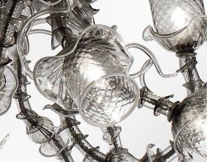 MULTIFORME - temptation - Chandelier Murano