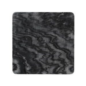 LOUISE ROE COPENHAGEN - marble plate black - Dinner Plate