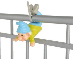 MY BALCONIA - nain de jardin à suspendre pour balcon - Garden Gnome