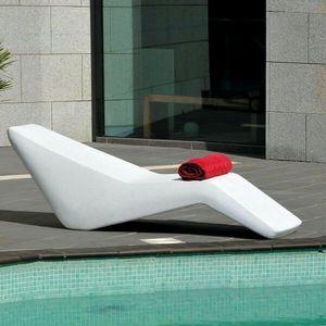 Mathi Design - chaise longue wave - Sun Lounger