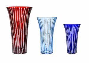 CRISTALLERIE DE MONTBRONN -  - Flower Vase