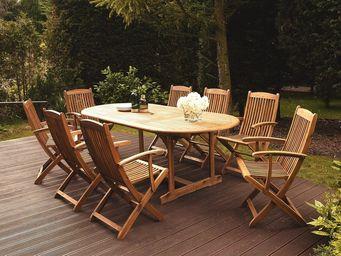 BELIANI - chaise de jardin - Outdoor Dining Room