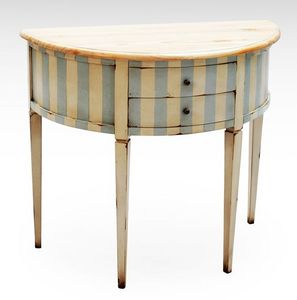 Marie France - pivoine - Demilune Commode