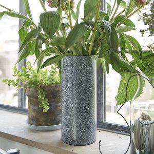BOIS DESSUS BOIS DESSOUS - vase effet vieilli - Flower Vase
