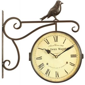 DECORATION D'AUTREFOIS -  - Outdoor Clock