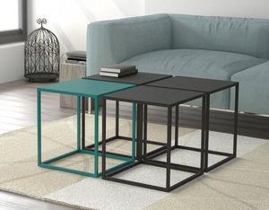 CRUZ CUENCA -  - Square Coffee Table