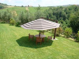 GARDENART - capote multivalvola® system - Giant Parasol