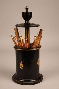 Jacque's Antiques -  - Cigar Cabinet