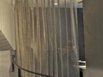 FOIN COTTE DE MAILLES -  - Tab Top Curtain