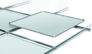 Burgess Architectural Products - joggled tegular - Glass Ceiling