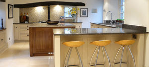 Russell Hutton Fine Interiors - bespoke handmade kitchen, altrincham, cheshire - Built In Kitchen