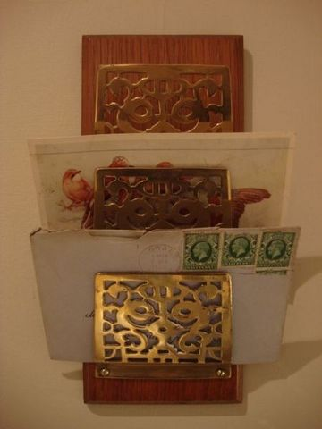 Serpentine Antiques - Wall mounted letter sorter-Serpentine Antiques