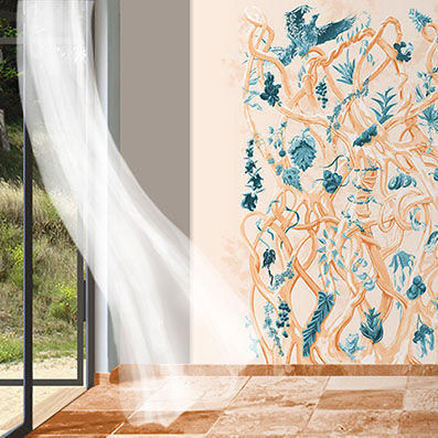 ATELIER MARETTE - Panoramic wallpaper-ATELIER MARETTE-Diversité LES WADDEN, WADDEN SEE, AMRUM