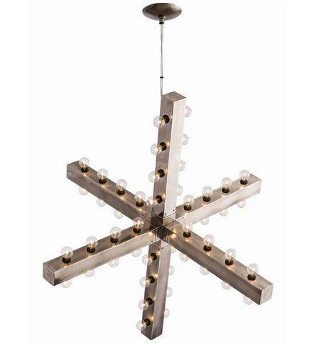 ALAN MIZRAHI LIGHTING - Chandelier-ALAN MIZRAHI LIGHTING-Industrielle-Chic Arteriors