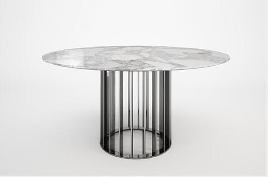 BARMAT - Round diner table-BARMAT-BAR.1000.7000