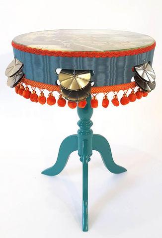 RELOADED DESIGN - Pedestal table-RELOADED DESIGN-Mini Table Verso Sud Tarantella Swing  - Small