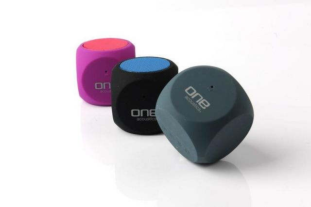one Products - Speaker-one Products-Mini Bluetooth Speaker - The Cube