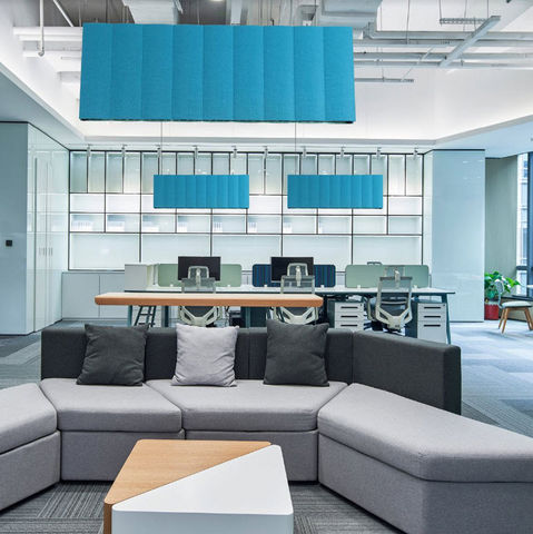 NEXEL EDITION - Office Hanging lamp-NEXEL EDITION-Felt-on