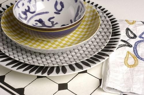 ISI - Dinner plate-ISI-Maschile