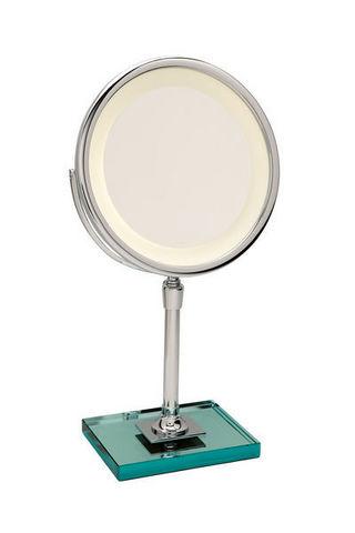 Miroir Brot - Lighted tabletop mirror-Miroir Brot-Elegance C24 sur Dalle de Verre