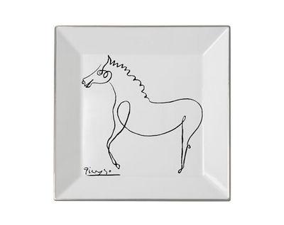 MARC DE LADOUCETTE PARIS - Pin tray-MARC DE LADOUCETTE PARIS-Picasso le Cheval 1920  27x27cm