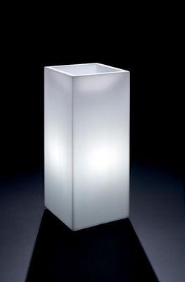 Lyxo by Veca - Illuminated pot-Lyxo by Veca-Cache-pot Cosmos quadrato outdoor