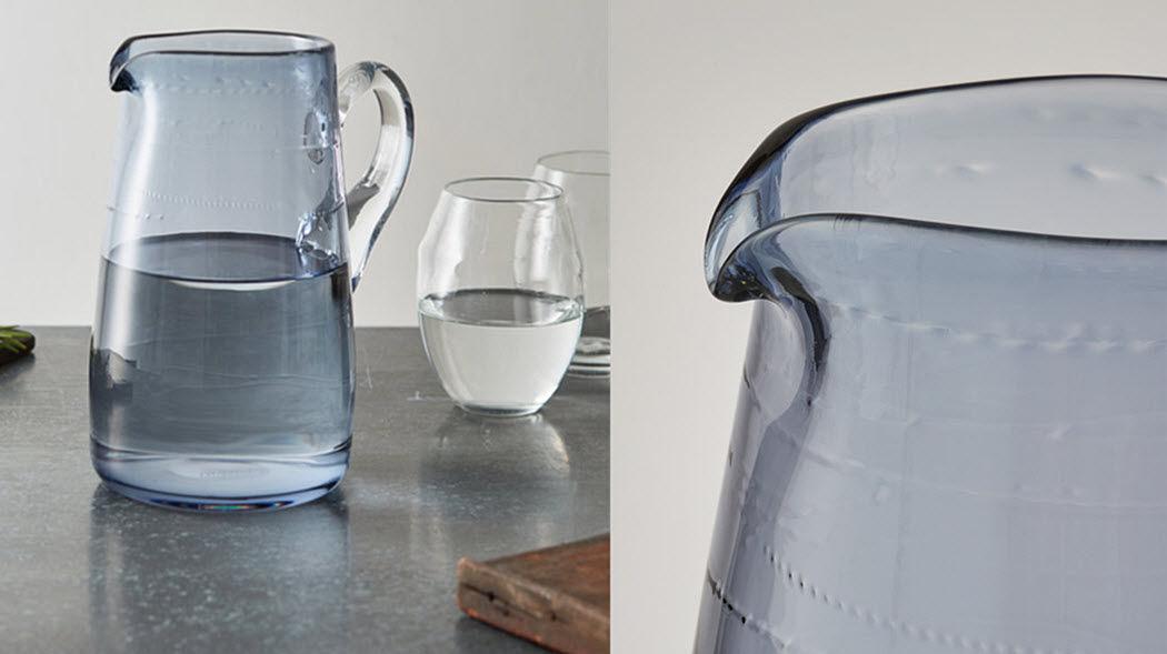 Michael Ruh Krug Flaschen und Karaffen Glaswaren  |