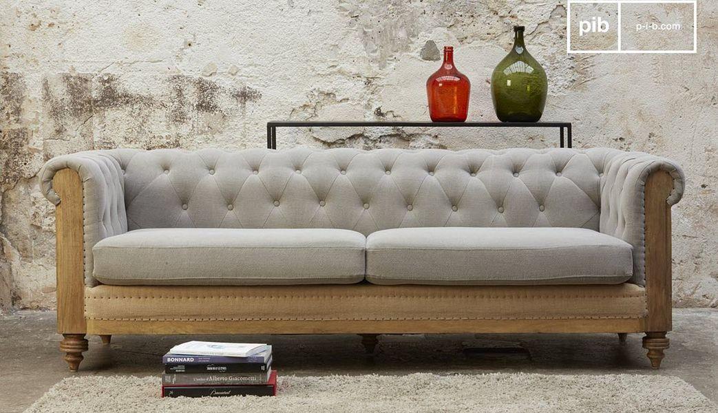 Produit Interieur Brut.com Chesterfield Sofa Sofas Sitze & Sofas  |