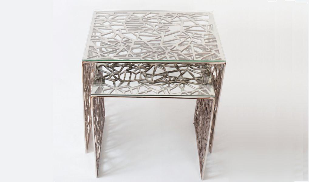 Joachim Holländer Tischsatz Beistelltisch Tisch  |