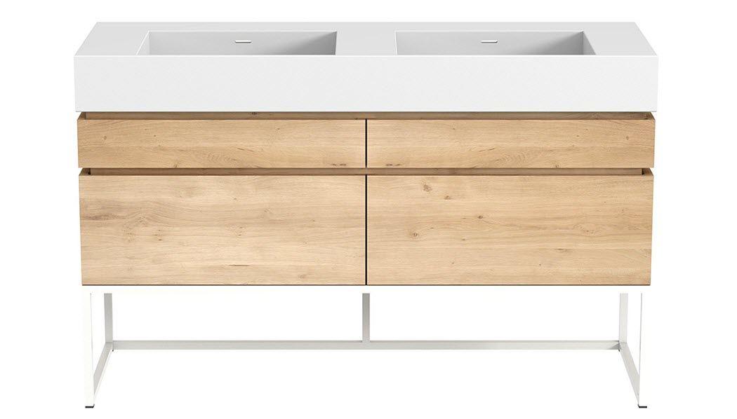 LE CEDRE ROUGE Doppelwaschtisch Möbel Badezimmermöbel Bad Sanitär  |