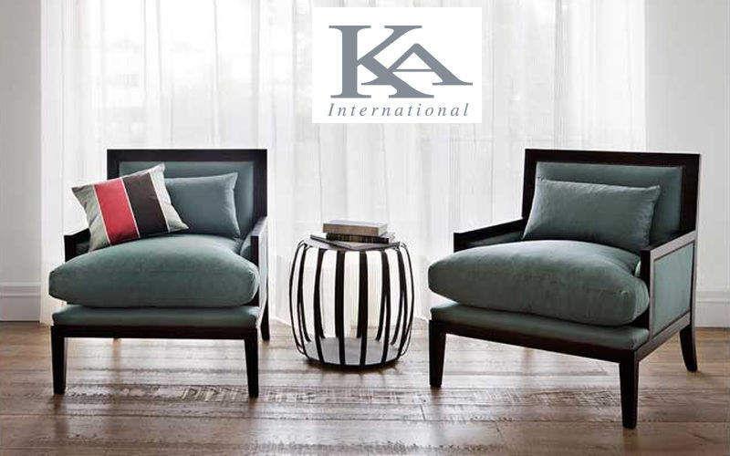 KA INTERNATIONAL Bergère-Sessel Sessel Sitze & Sofas Wohnzimmer-Bar | Klassisch