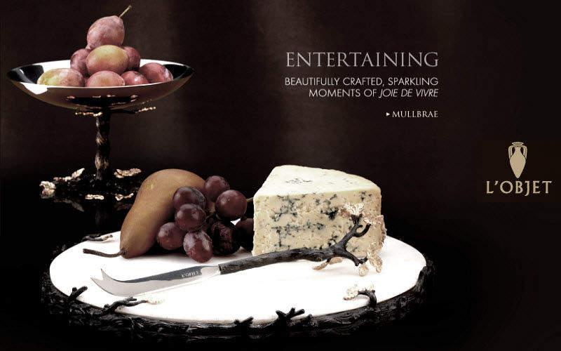 L'OBJET Käseplatte Platten Geschirr Esszimmer | Klassisch