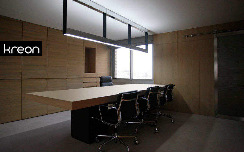KREON Bürohängelampe Kronleuchter und Hängelampen Innenbeleuchtung Arbeitsplatz | Design Modern