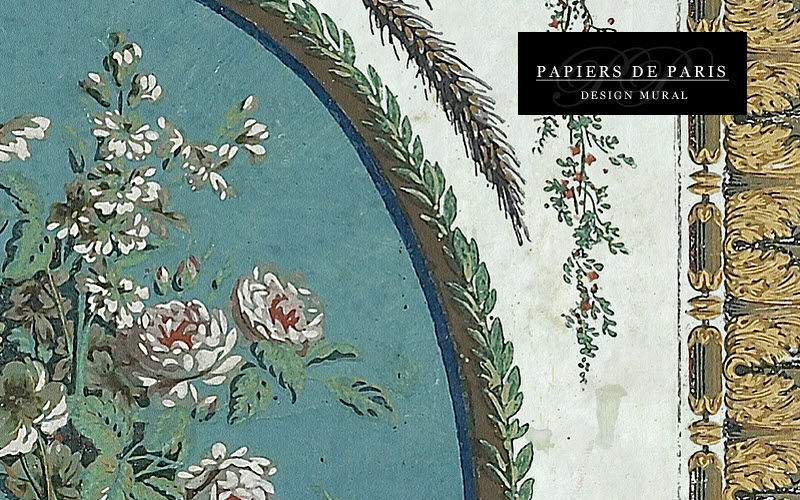 PAPIERS DE PARIS Panoramatapete Tapeten Wände & Decken Eingang | Klassisch