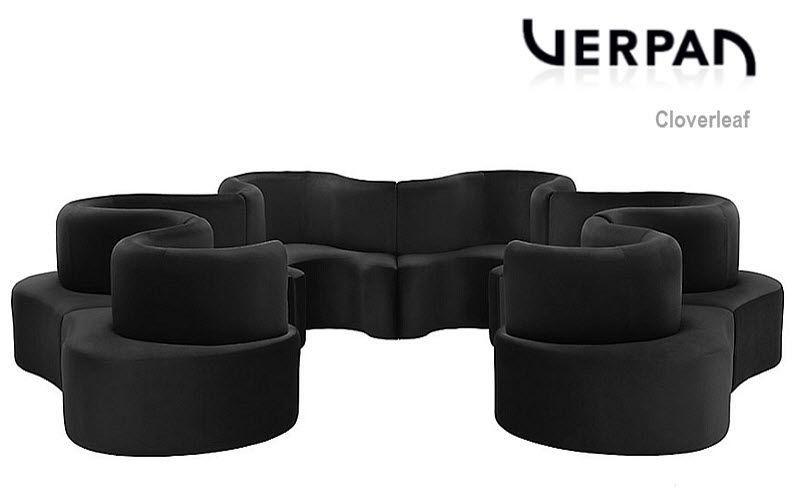 Verpan Rundsofa Sofas Sitze & Sofas Arbeitsplatz | Design Modern