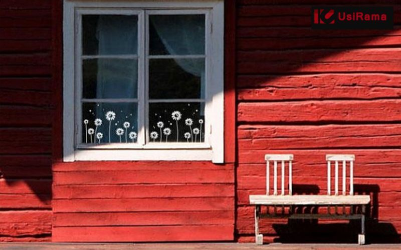 UsiRama.com Sticker Dekorativer Sticker Wände & Decken   