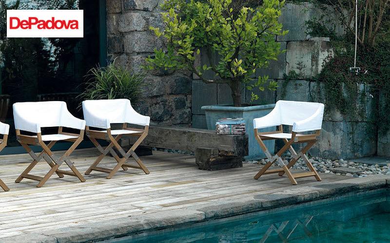 DE PADOVA Gartensessel Gartensessel Gartenmöbel Garten-Pool | Design Modern
