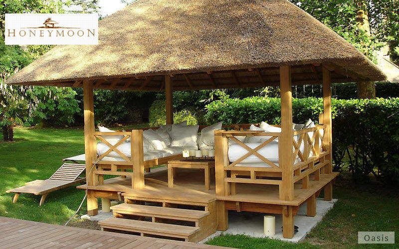 Honeymoon Strohhütte Hütten, Almhütten Gartenhäuser, Gartentore...  |