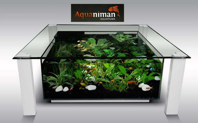 AQUANIMAN Couchtisch mit Aquarium Couchtische Tisch  |