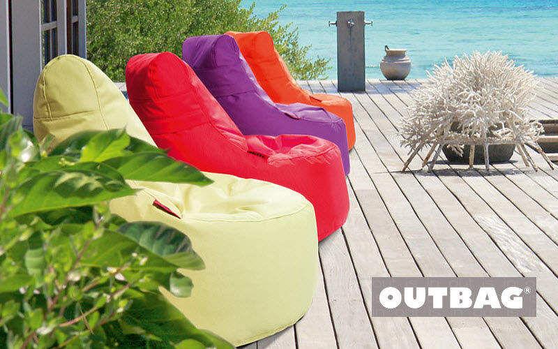 OUTBAG Birne Sitzkissen Schemel und Beinauflage Sitze & Sofas Terrasse |